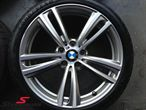 "19"" M-Doppelspeiche 442 glanzgedreht, rim 8,5X19 (original BMW fits only rear)"