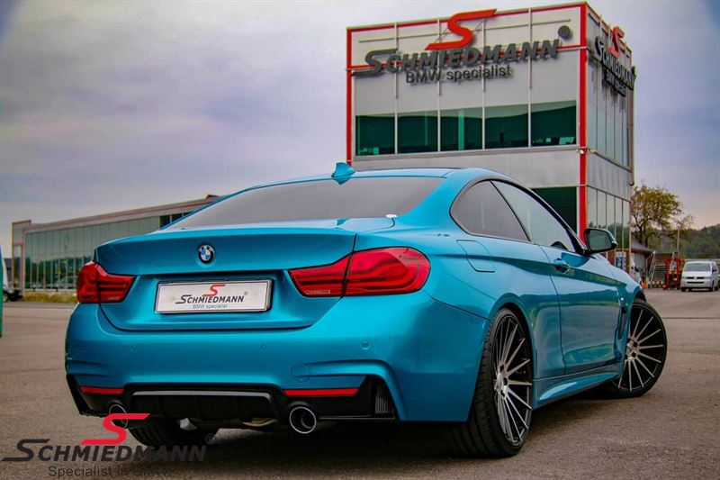 Rear diffuser -BMW ///M-Performance- for M-Technic rear skirt/M-Aerodynamic rear bumper