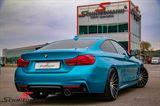 Rear diffuser -BMW ///M-Performance- for M-Technic rear skirt/M-Aerodynamic rear bumper