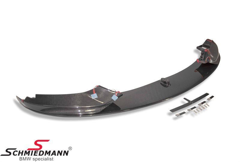 Frontspoilerlip carbon -BMW M-Performance-