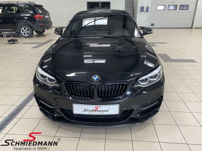 Kidney highgloss black original -BMW M-Performance- L.-side