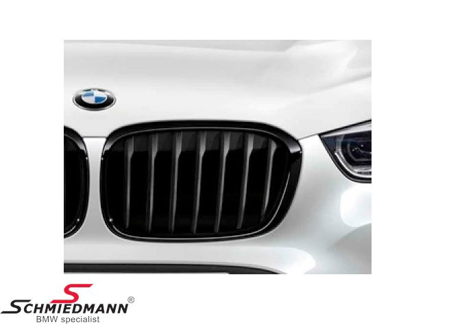 Kidney highgloss black original -BMW ///M-Performance- R.-side