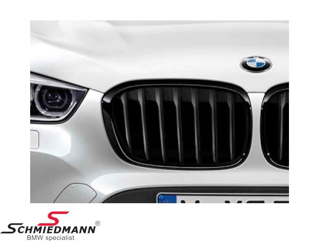 Kidney highgloss black original -BMW ///M-Performance- L.-side