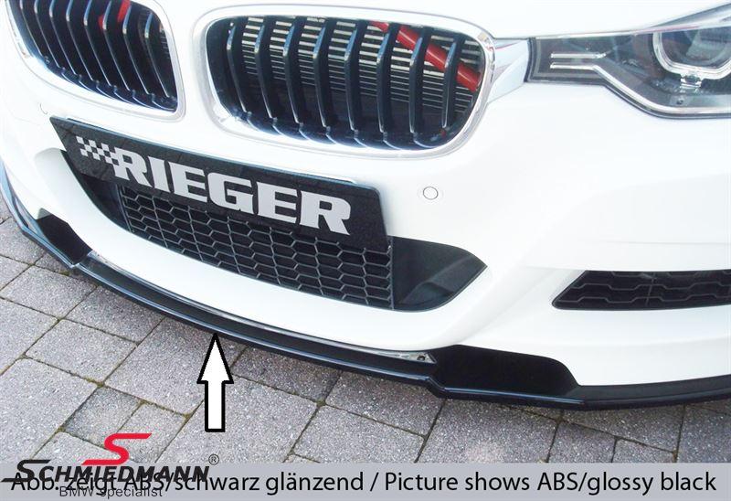 Rieger Frontspoilerippe (lackierbar) für M-Technik Frontspoiler