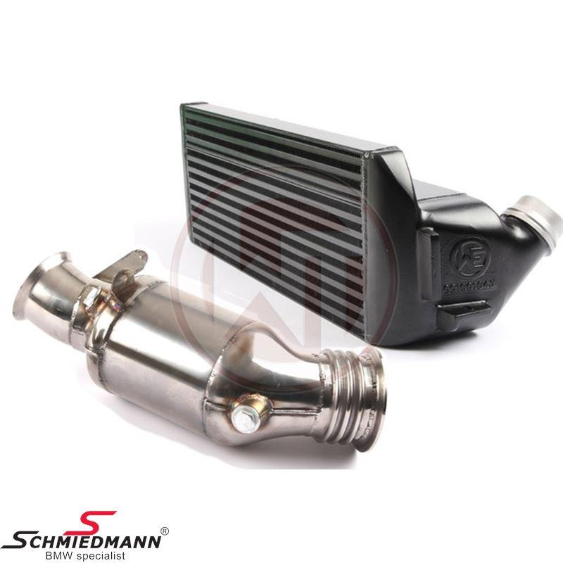 Wagner Tuning Performance-Paket EVO1 für N55 Motoren: Downpipe mit 200-Zellen-Kat. + Upgrade-Ladeluftkühler