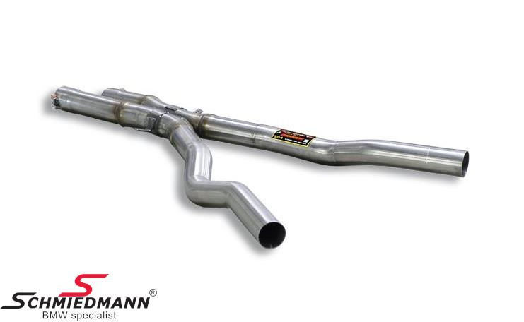 X-Pipe middle-silencer replacement Supersprint - from the catalyst - to the rear exhaust (Will increase the racing sound)