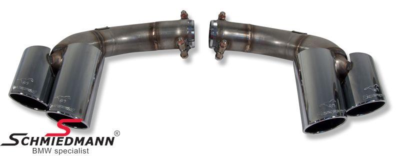 Supersprint Endrohre 4x90mm.