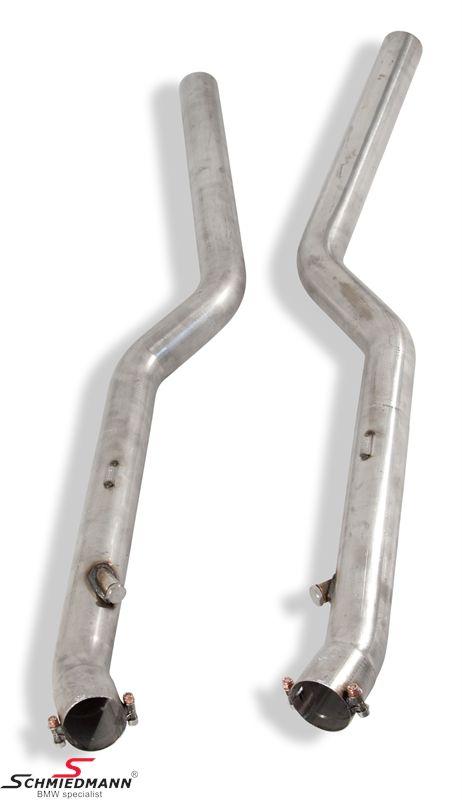 Supersprint Vorne-Katalysator Ersatz nur für die Rennstrecke
