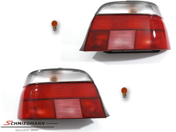 Rückleuchten rot/weiss original Design