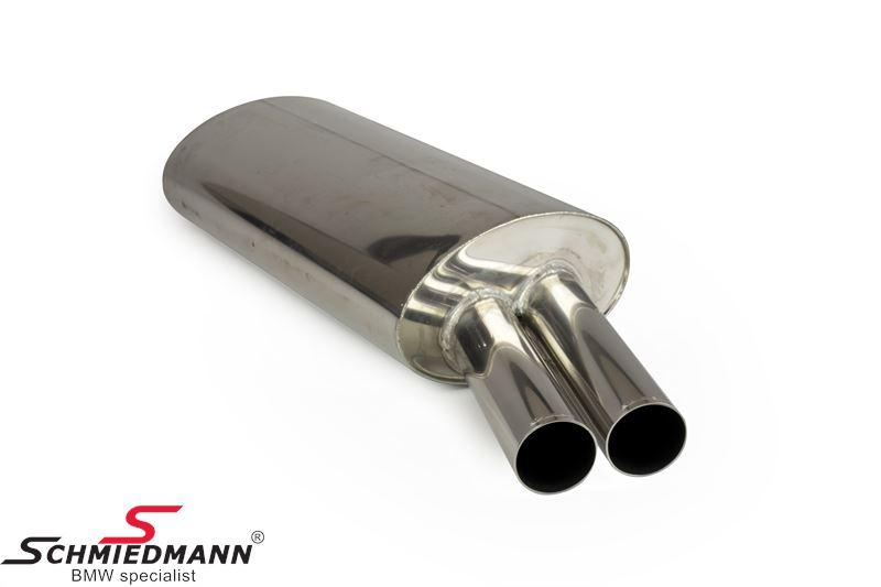 Eisenmann Sportendschalldämpfer 2XØ70MM
