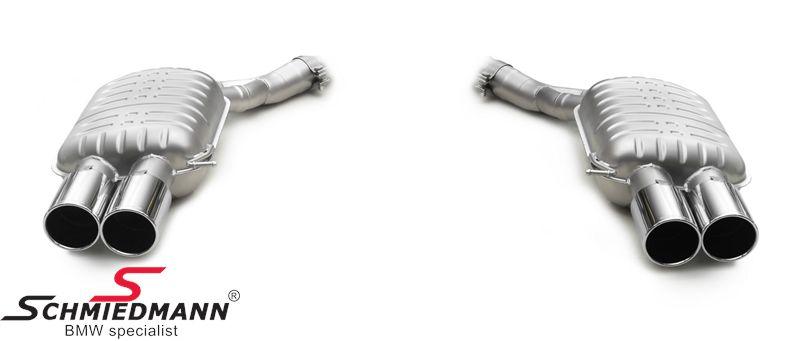 4 Rohr Eisenmann RV -Race Version- Sportauspuffanlage 4X90MM rund