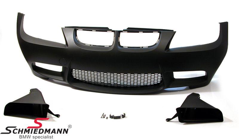 Frontspoiler Motorsport II EVO Design (Nebelscheinwerfer müssen entfernt werden, um Platz für die großen Luftführungen zu machen)