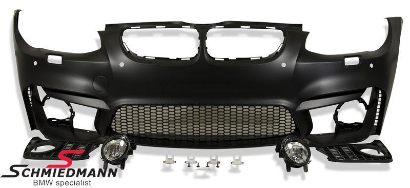 Frontspoiler Motorsport III EVO inclusive foglights