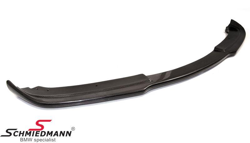 BMW E90 E91 Frontspoiler Lippe echt Carbon für Standard Stossstange