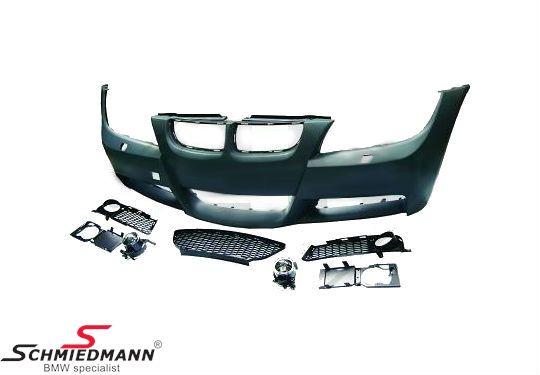 Frontspoiler Motorsport I design (inclusive foglights etc.)