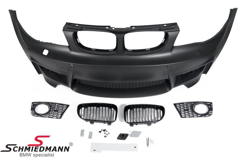 Frontspoiler Motorsport II Design (original Nebelscheinwerfer passend)
