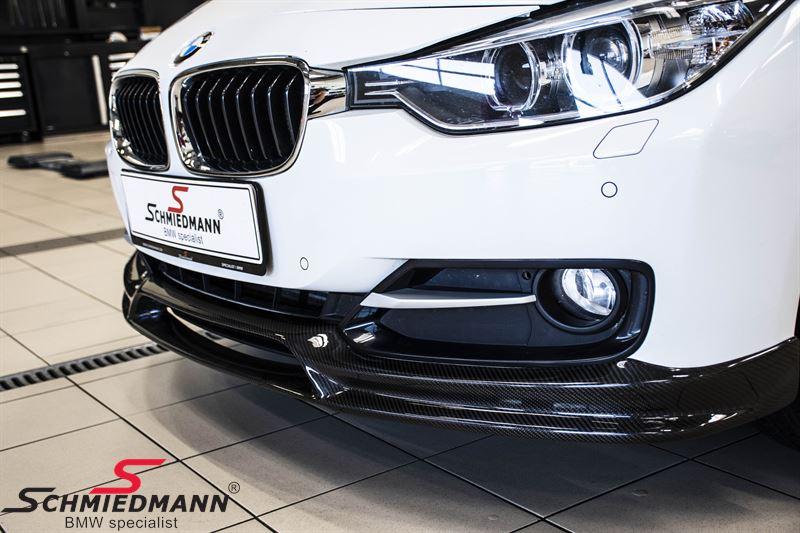 """Spoilerlippe  """"Motorsport""""  komplette Carbon Oberfläche für original M Stoßstange"""