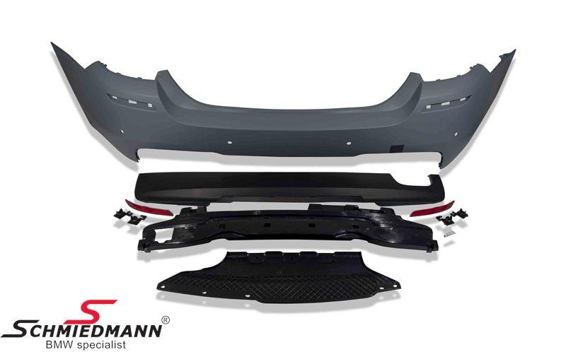 Heckschürze BWm F10  F10LCI -Motorsport I-