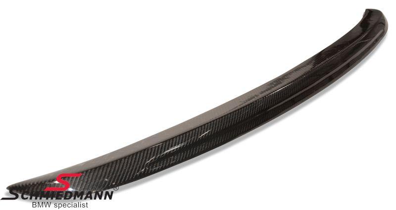 BMW E60 er Heckspoilerlippe EVO Race Look echt Carbon