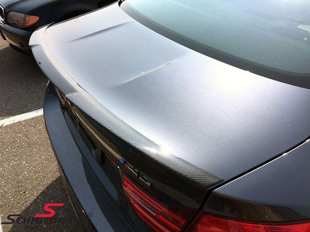 Rear spoiler -EVO II race- genuine carbon