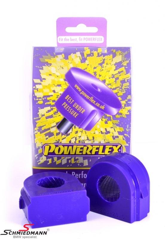 Powerflex racing Stabilisator Gummilager-Satz vorne 26,5MM (Diagram ref. 3)