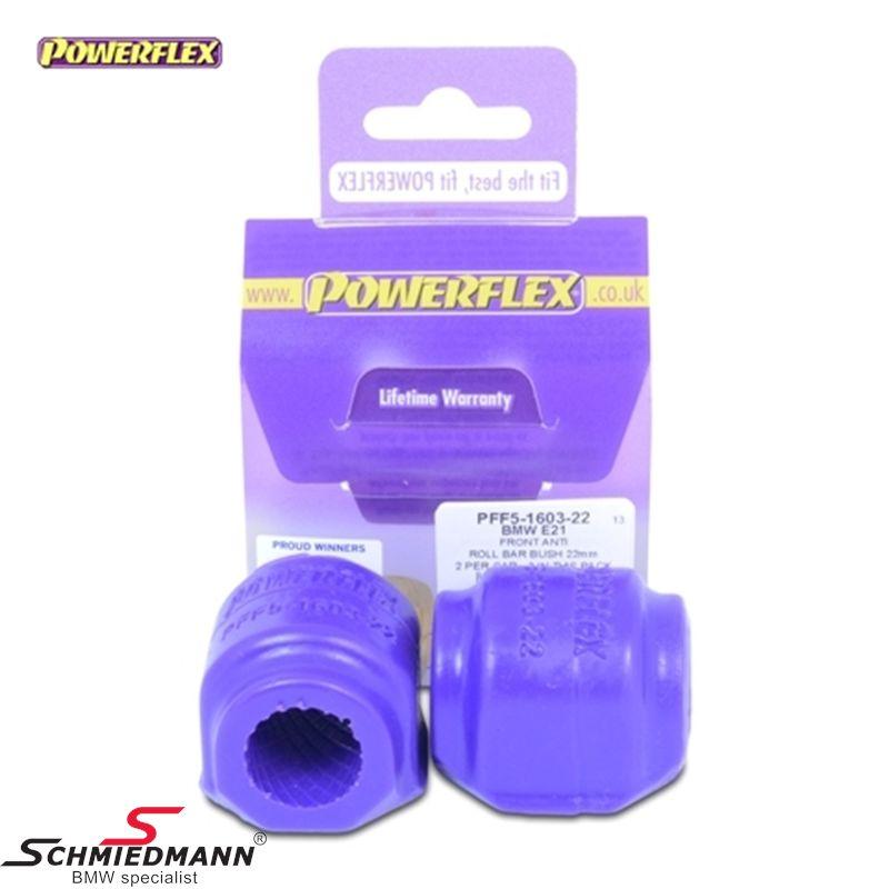 Powerflex racing Stabilisator Gummilager-satz vorne 22MM
