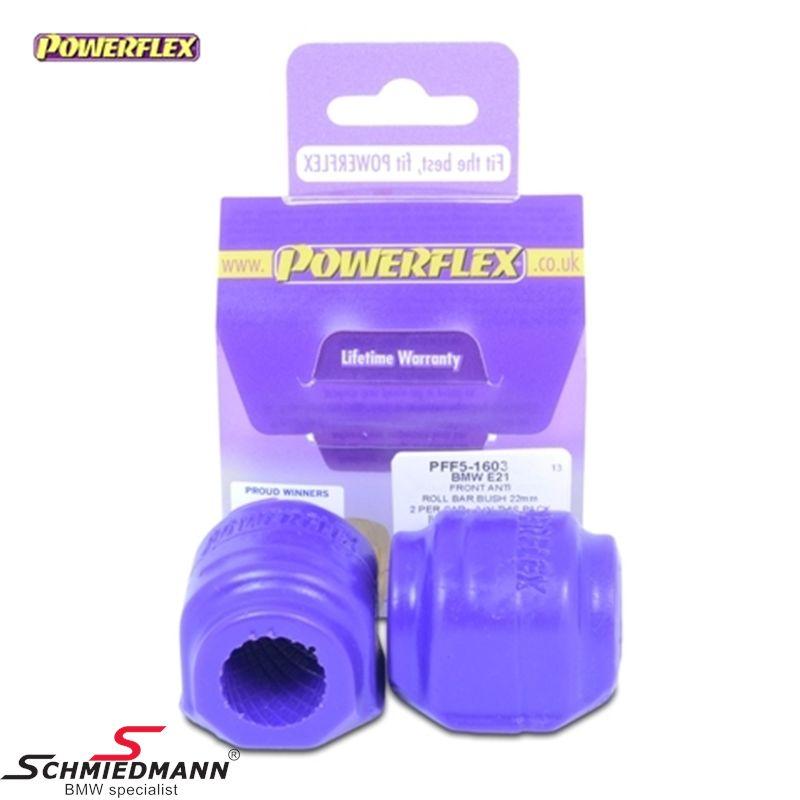 Powerflex racing Stabilisator Gummilager-satz vorne 23,5MM