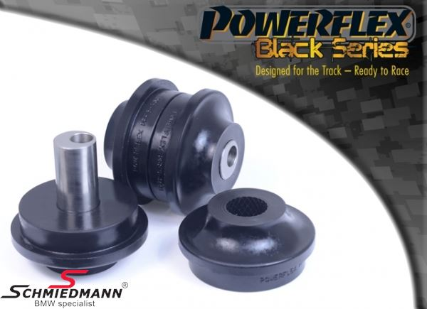 Powerflex racing -Black Series- front arm (wishbone) inner bush set, with adjustable caster +/- 0.75° (Pos. 1 on diagram)
