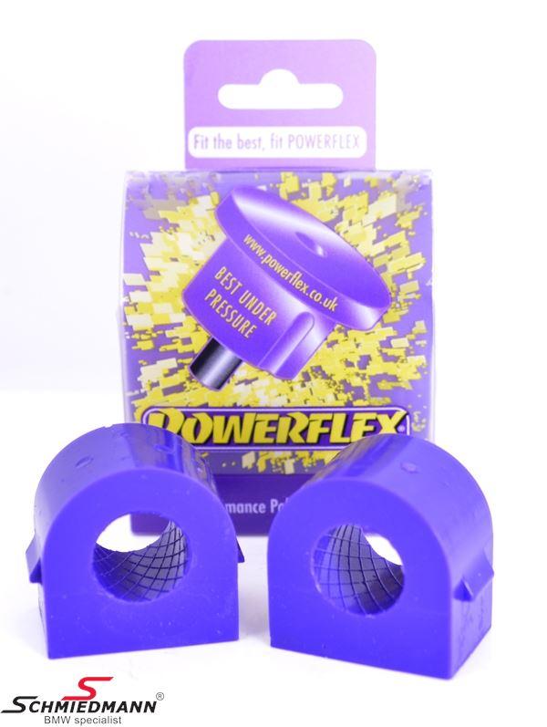 Powerflex racing Stabilisator Gummilager-Satz hinten 23,6MM (Diagram ref. 10)