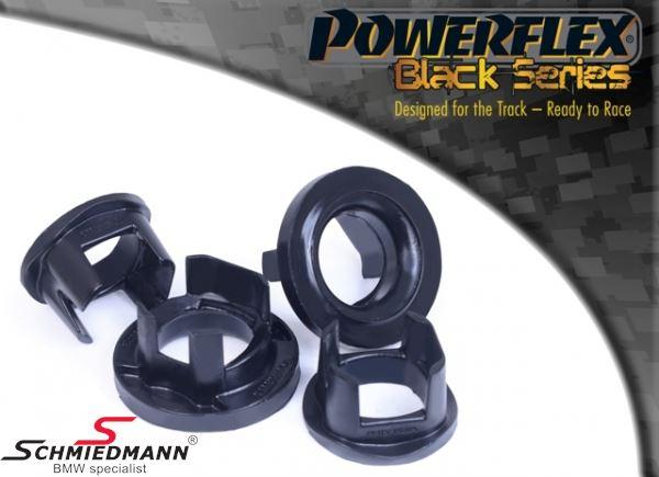 Powerflex racing -Black Series- äussere vorne Hinterachs Gummilagereinsatz-Satz (Nur Einsätze) (Position 20 auf diagram)