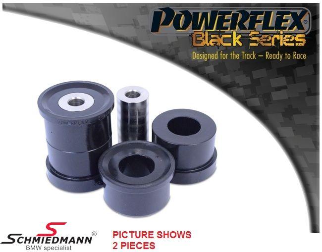Powerflex Racing -Black Series- äussere hintere Hinterachs Gummilager-Satz (für Race und Track Day´s) (Position 20 auf diagram)