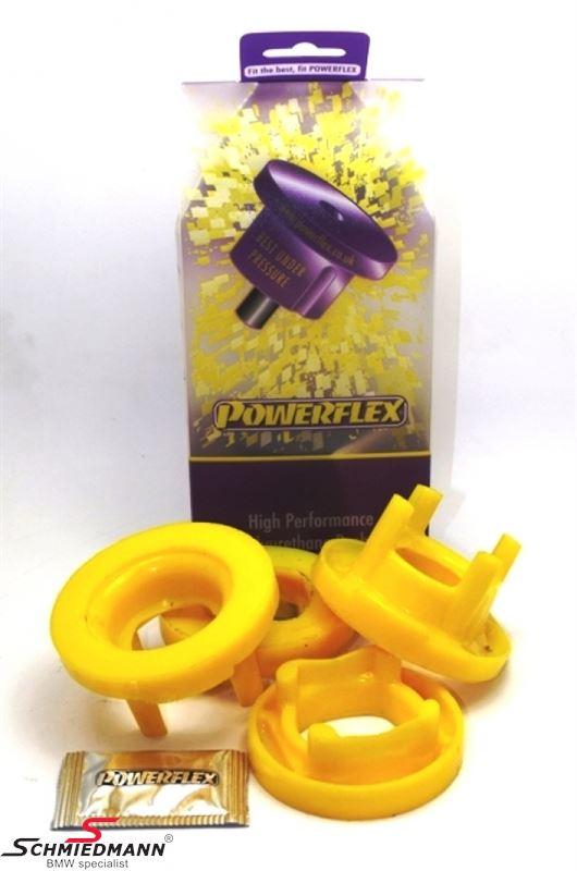 Powerflex Racing äussere hintere Hinterachs Gummilagereinsatz-Satz (Nur Einsätze günstigere Alternative zu PFR5-420 + schnnelleren Einbau)