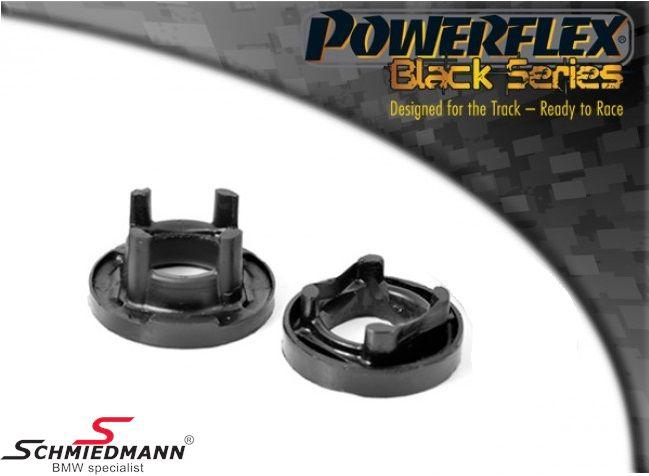 Powerflex Racing -Black Series- äussere hintere Hinterachs Gummilagereinsatz-Satz (Nur Einsätze günstigere Alternative zu PFR5-420 + schnnelleren Einbau)