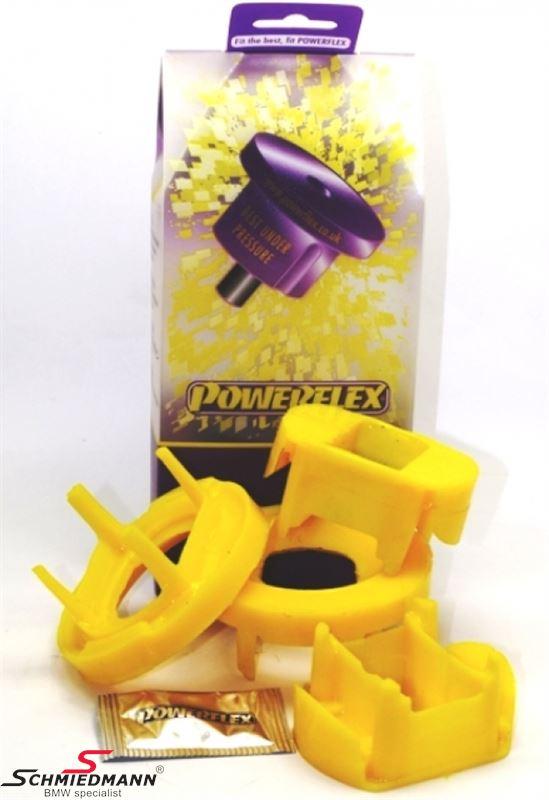 Powerflex Racing äussere hintere Hinterachs Gummilagereinsatz-Satz (Nur Einsätze günstigere Alternative zu PFR5-422 + schnnelleren Einbau)