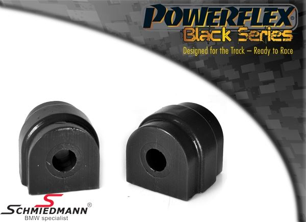 Powerflex racing -Black Series- Stabilisator Gummilager-Satz hinten 12MM (Diagram ref. 10)