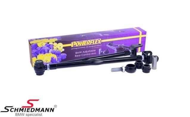 Powerflex rear adjustable wishbone kit R+L.-side