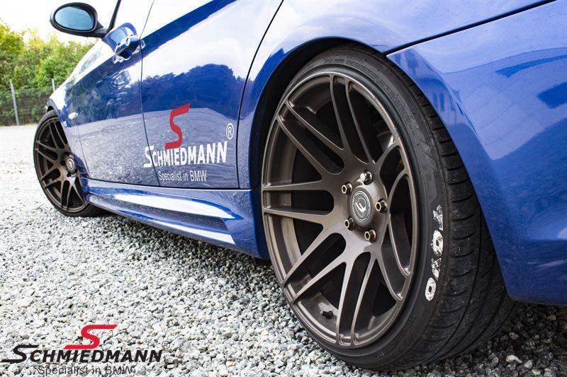 Seitenschweller Satz BMW Motorsport II EVO mit Lufteinlässe