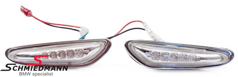 Seitenblinker LED weiss