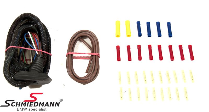 Schmiedmann harness repair set for the trunk lid L.-side, fast and easy repair