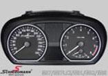 Schmiedmann Tachometererweiterung 320Km/h inklusive Logo