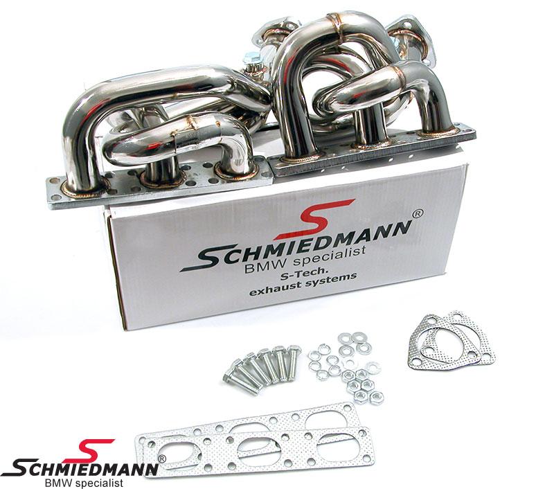 Schmiedmann Fächerkrümmer BMW E36 E39 S-Tech M50/M52/ TÜV-Gutachten
