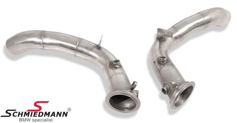 Schmiedmann Katalysator Ersatz (Downpipes) nur für die Rennstrecke