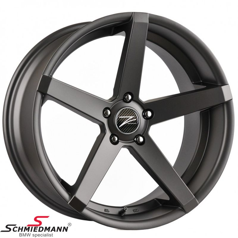 "20"" Z-Performance -Type 6- rim 10x20 ET35,  Matte Gun Metal (fits only rear)"
