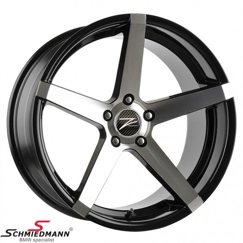 "20"" Z-Performance -Type 8- rim 10x20, Phantom Black polished (fits only rear)"