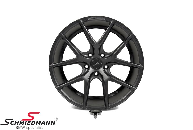 "19"" Z-Performance -Type 9- rim 8,5x19 ET35, Matte Gun Metal"